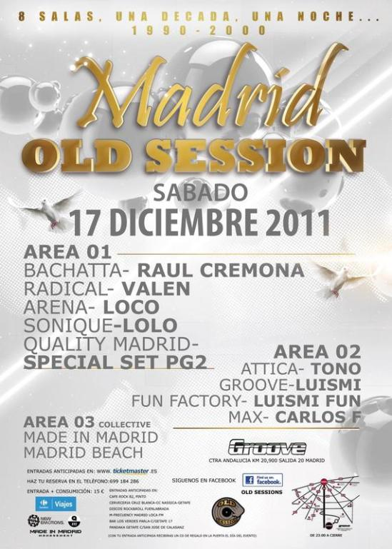 Madrid Old Session